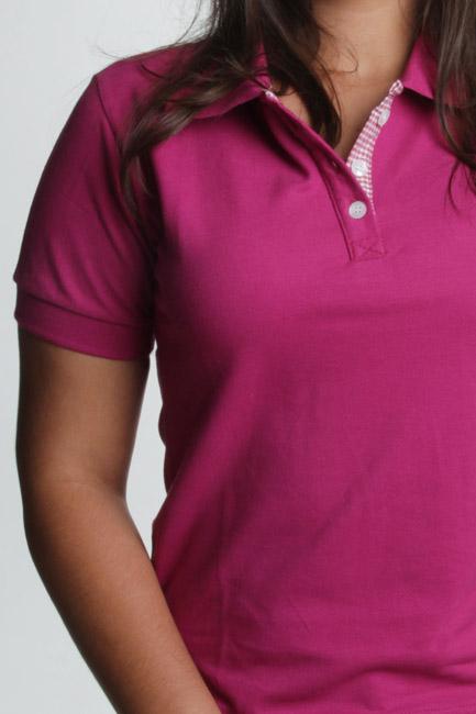 0ada978fd3 Camisa Polo Rosa Choque. confecção de camisa rosa choque polo feminina com  bordado